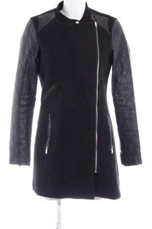 Vero Moda Lange Jacke schwarz schlichter Stil