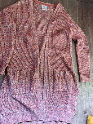 Vero Moda Gilet long tricoté multicolore