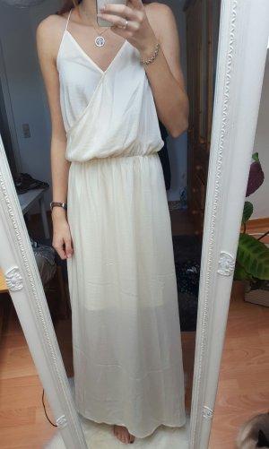 Vero Moda - langes fließendes Kleid; Gr. M