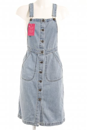 Vero Moda Pinafore Overall Skirt azure casual look