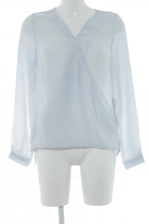 Vero Moda Blouse en cuir bleu azur style classique