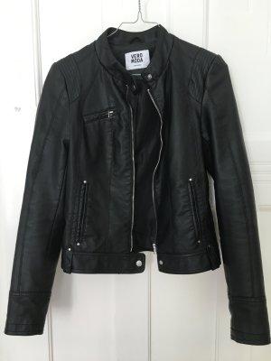 Vero Moda Chaqueta de motociclista negro