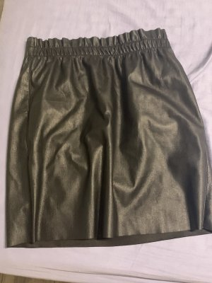 Vero Moda Leather Skirt black