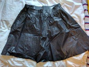 Vero Moda Lederrock in schwarz
