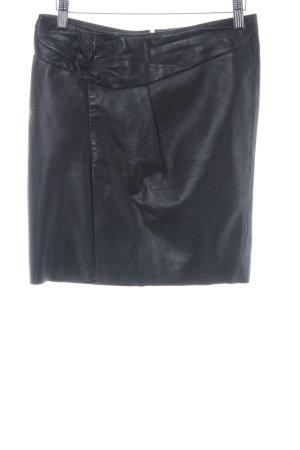 Vero Moda Leren rok zwart casual uitstraling