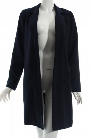 Vero Moda Long-Blazer dunkelblau Eleganz-Look