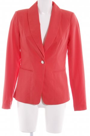 Vero Moda Long-Blazer hellrot Business-Look