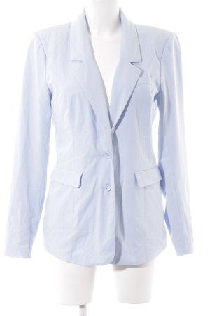 Vero Moda Lange blazer azuur zakelijke stijl