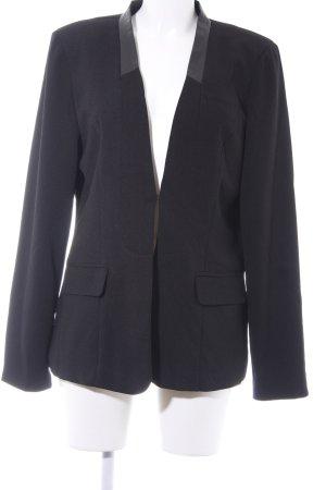 Vero Moda Long-Blazer schwarz schlichter Stil