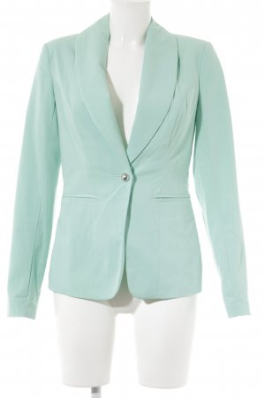 Vero Moda Long-Blazer türkis Casual-Look