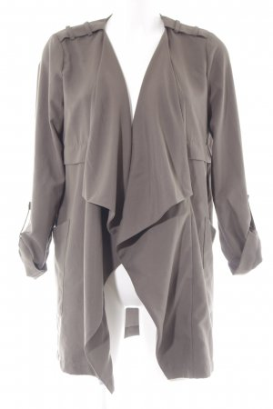 Vero Moda Long Knitted Vest green grey simple style