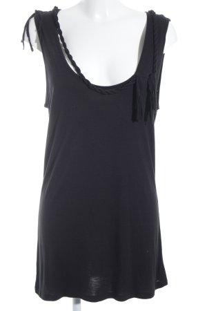 Vero Moda Longtop schwarz schlichter Stil
