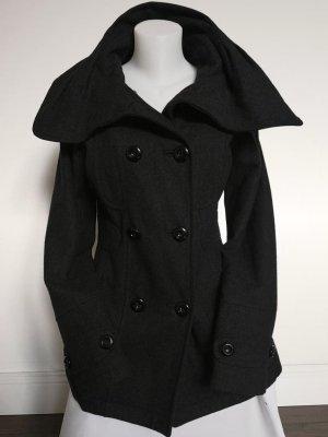 Vero Moda Winterjas zwart-antraciet