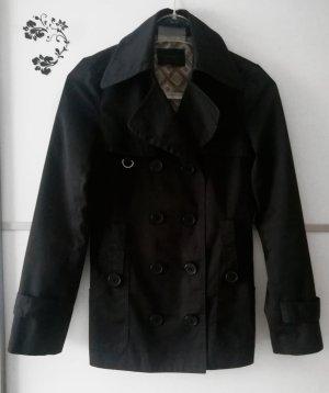 Vero Moda Trench Coat black-beige