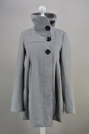 Vero Moda Mantel Wollmischung grau Größe XS