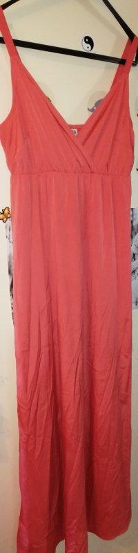 Vero Moda Maxi abito arancione-rosso