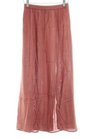 Vero Moda Maxi Skirt russet casual look