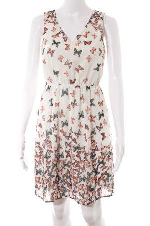 Vero Moda Midikleid florales Muster Romantik-Look