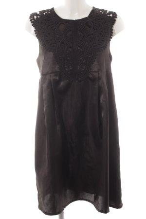 Vero Moda Midi-jurk zwart casual uitstraling