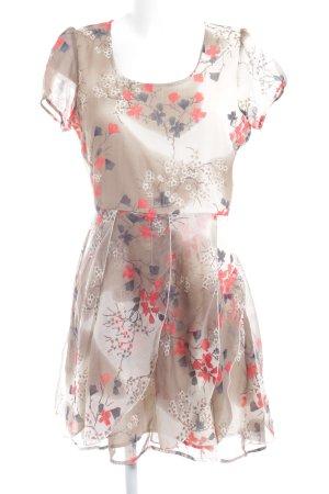 Vero Moda Minikleid Blumenmuster Street-Fashion-Look