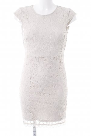 Vero Moda Minikleid creme florales Muster Elegant