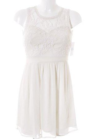Vero Moda Minikleid creme Romantik-Look