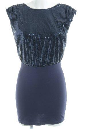 Vero Moda Minikleid dunkelblau Party-Look