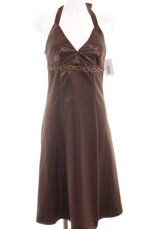 Vero Moda Minikleid dunkelbraun Elegant