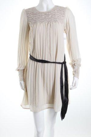 Vero Moda Minikleid hellbeige Eleganz-Look