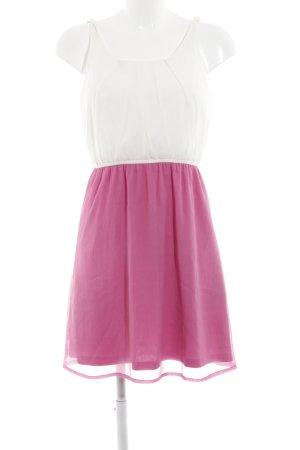 Vero Moda Minikleid pink-wollweiß Elegant
