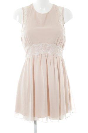 Vero Moda Minikleid rosé Romantik-Look