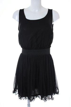 Vero Moda Minikleid schwarz Party-Look