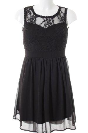 Vero Moda Minikleid schwarz Romantik-Look
