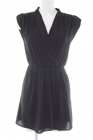 Vero Moda Minikleid schwarz schlichter Stil