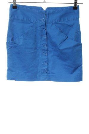 Vero Moda Minirock blau Casual-Look