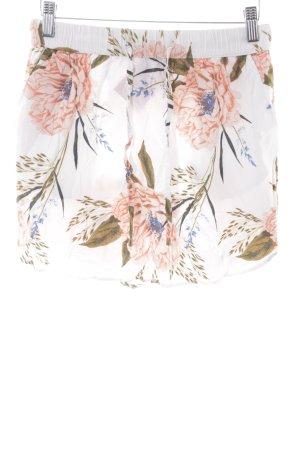 Vero Moda Minirock Blumenmuster Casual-Look