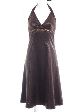 Vero Moda Neckholderkleid dunkelbraun Elegant