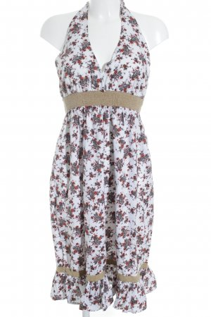 Vero Moda Halter Dress floral pattern beach look