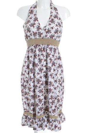 Vero Moda Robe dos-nu motif floral Look de plage