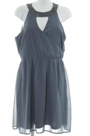 Vero Moda Halterjurk grijs-donkergrijs elegant