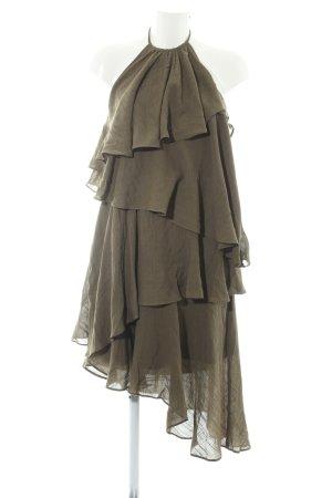 Vero Moda Robe dos-nu kaki style décontracté