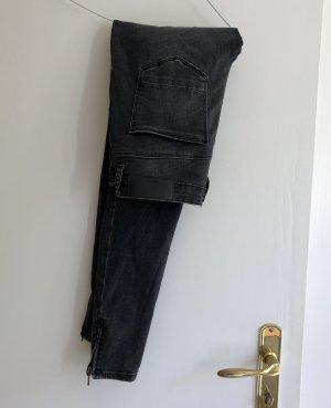 Vero Moda Noisy May Jeans 28 x 32 Anthrazit schwarz