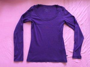 Vero moda oberteil t-shirt lila größe xs s 34 36