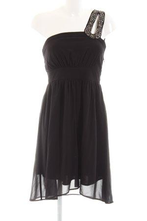 Vero Moda Vestido de un hombro negro elegante