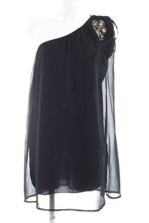 Vero Moda Eénschouderjurk zwart elegant