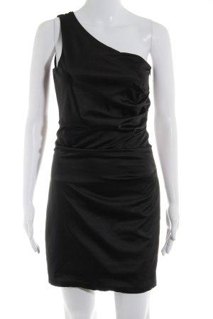 Vero Moda One-Shoulder-Kleid schwarz Elegant