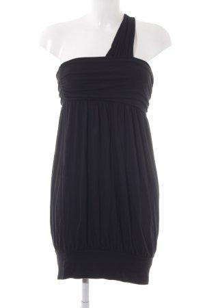 Vero Moda One-Shoulder-Kleid schwarz schlichter Stil
