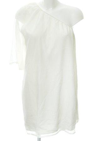Vero Moda Abito monospalla bianco sporco elegante