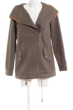 Vero Moda Outdoorjacke cognac-khaki Military-Look
