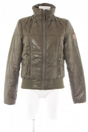 Vero Moda Outdoorjacke olivgrün Casual-Look